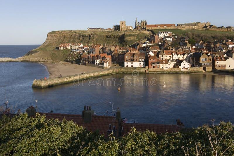 Porta di Whitby - il Yorkshire - l'Inghilterra immagini stock libere da diritti