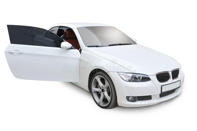 Porta direita de BMW 335i aberta imagem de stock