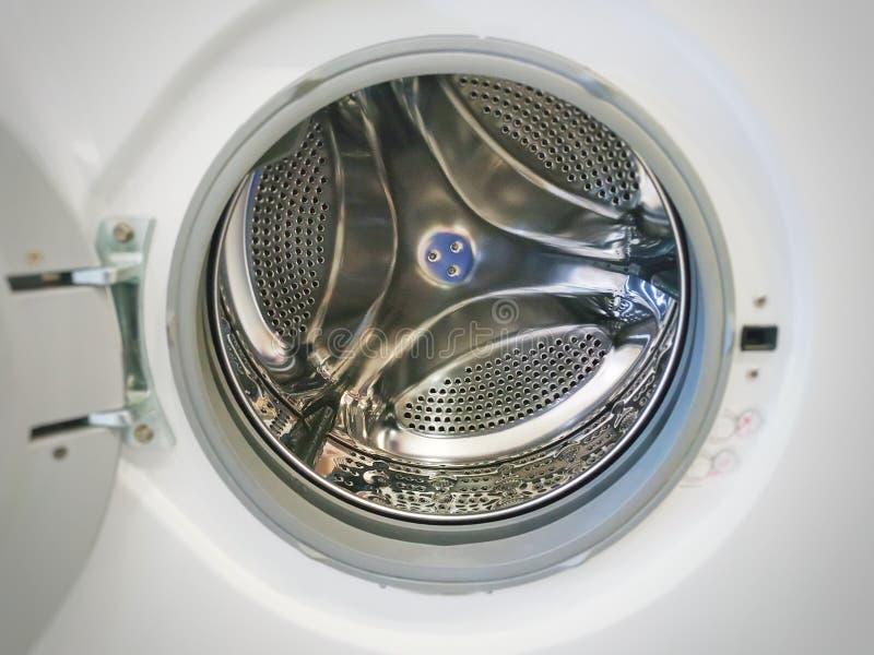 porta do centrifugador da máquina de lavar fotografia de stock