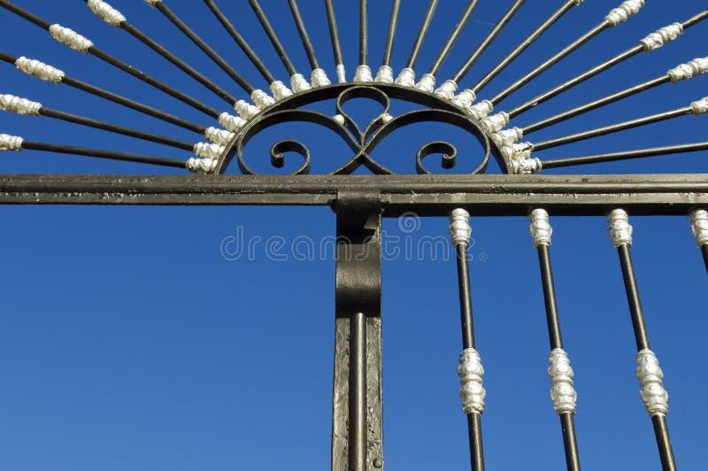 Porta do ferro imagem de stock