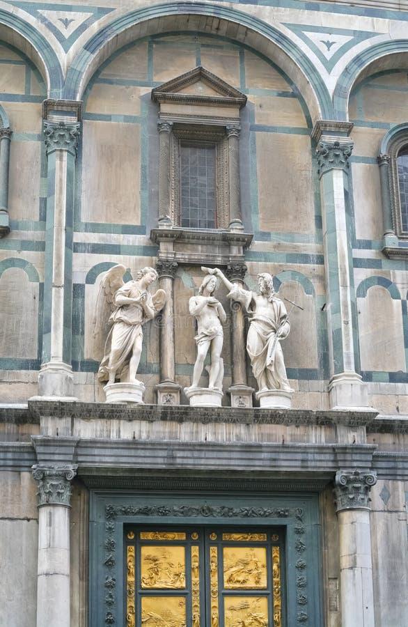 Porta do leste do Baptistery em Florença fotos de stock royalty free