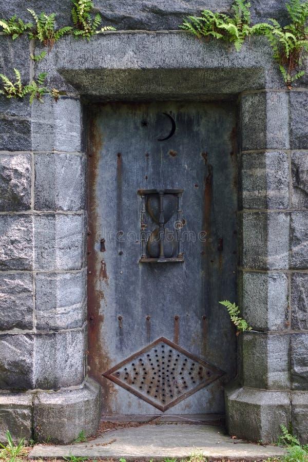 Porta Do Mausoléu Fotografia de Stock Royalty Free