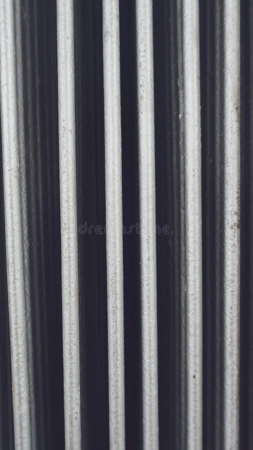 Porta do metal na dobra Porta de dobramento do metal fotos de stock