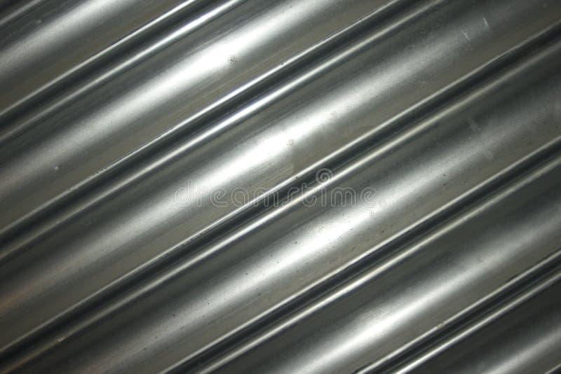 Porta do obturador do metal do rolamento fotografia de stock