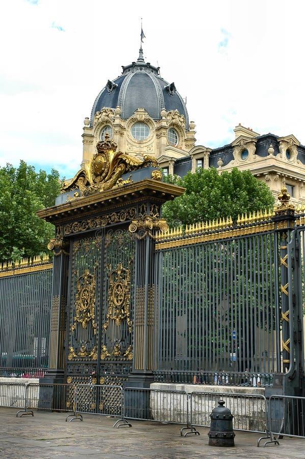 Porta do palácio fotografia de stock royalty free