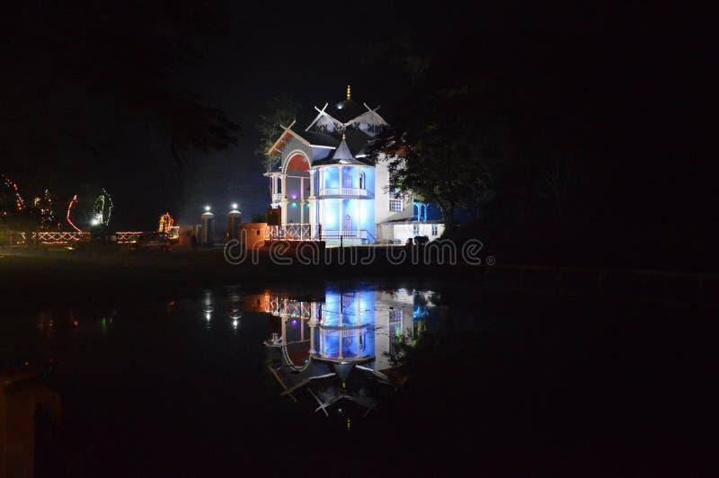 A porta do palácio de Kangla - lugar sagrado em Manipur, Índia imagens de stock royalty free