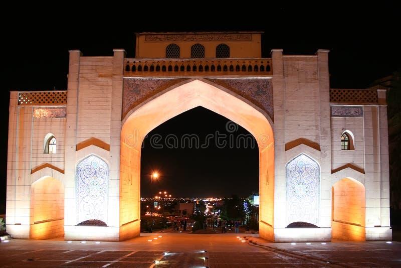 Porta do Quran em Shiraz imagens de stock