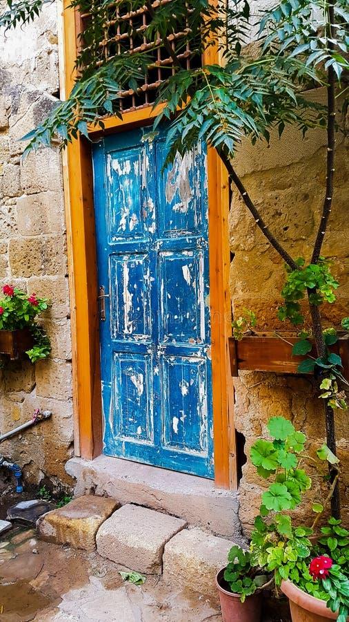 Porta do vintage foto de stock