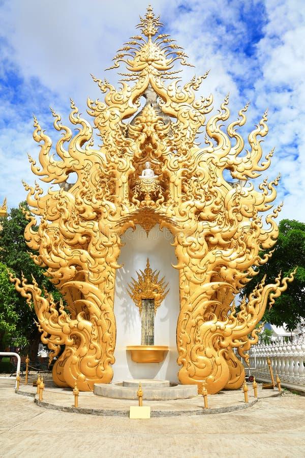 Porta dourada imagem de stock royalty free
