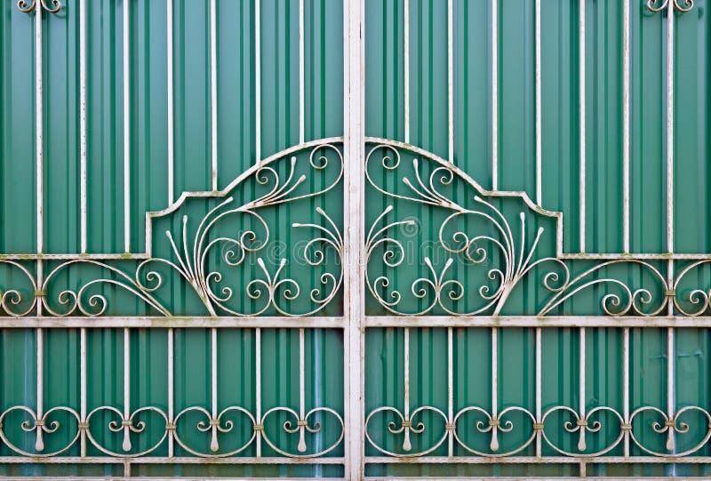 Porta fechada fotografia de stock