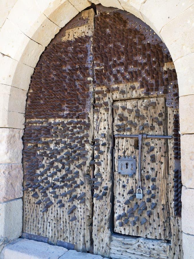 Porta fortificada foto de stock royalty free