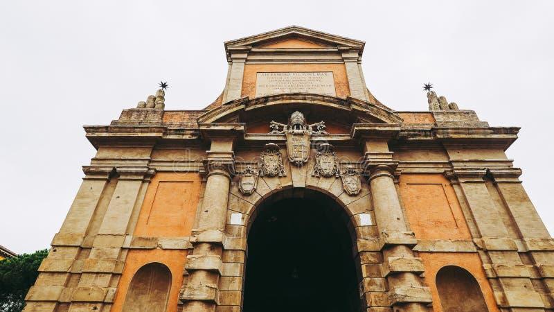 Porta Galliera à Bologna images libres de droits