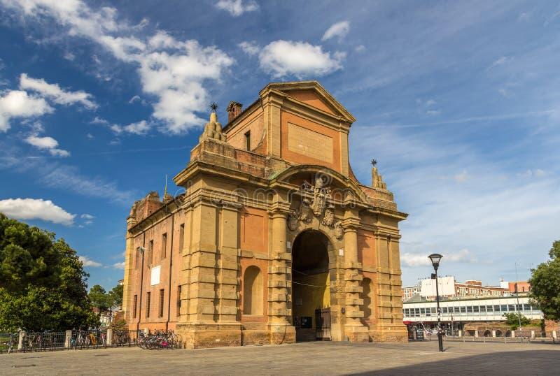 Porta Galliera à Bologna, Italie image stock