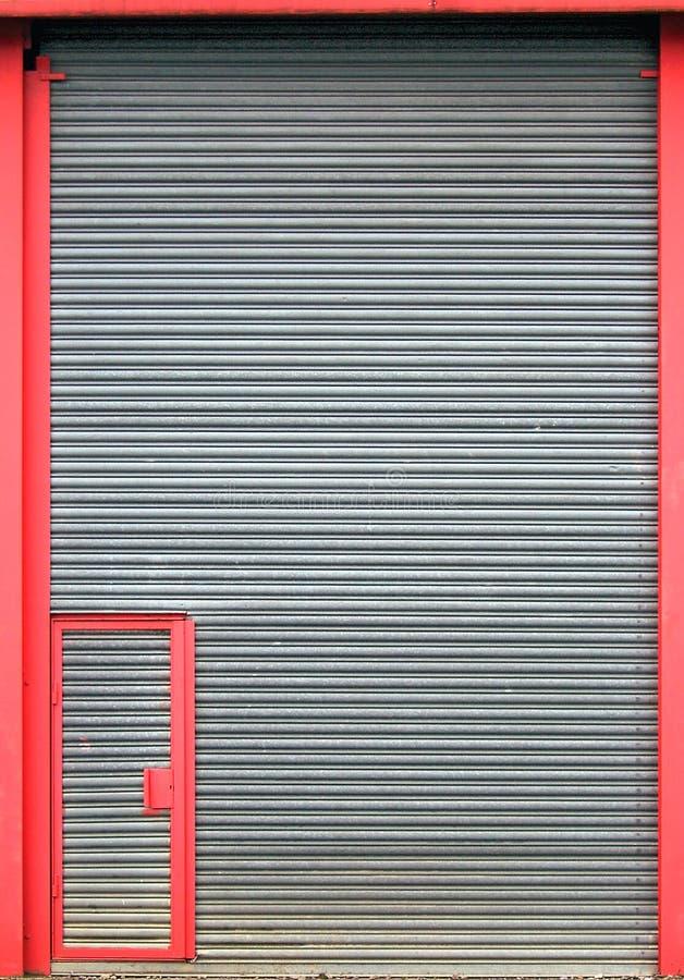 Porta grande, porta pequena fotografia de stock