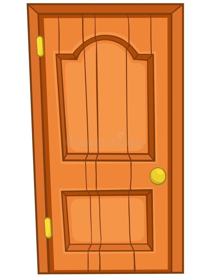 Porta Home dos desenhos animados ilustração royalty free