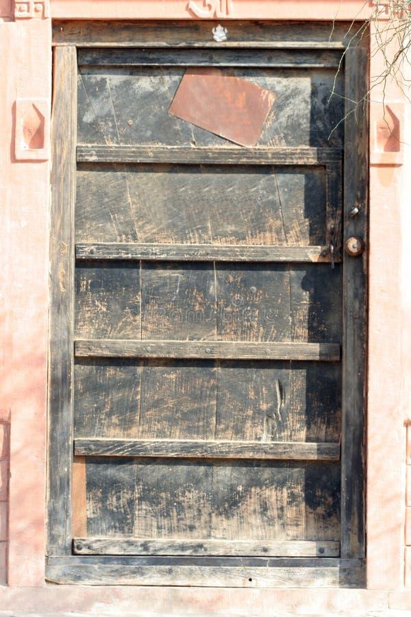 Porta indiana do vintage imagens de stock royalty free