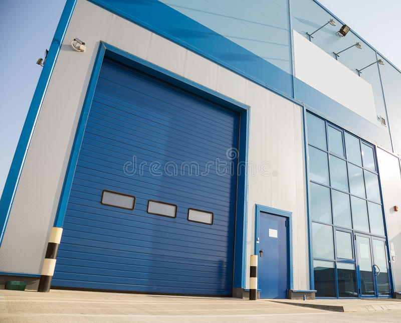 Porta industrial foto de stock royalty free