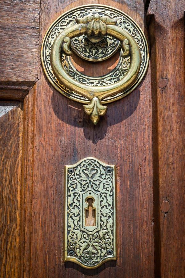 porta islâmica no peru de Istambul foto de stock