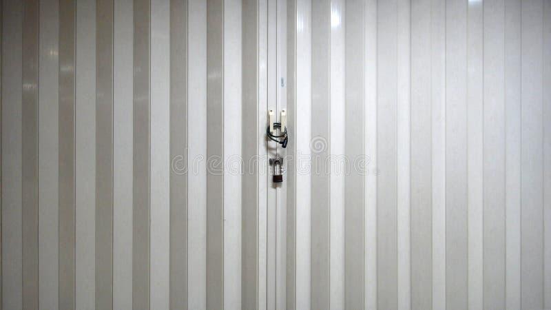 Porta Locked imagem de stock