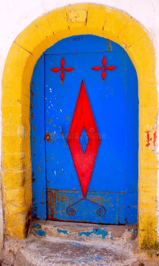 Porta marroquina foto de stock