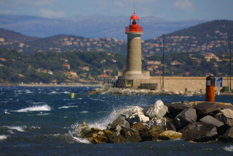 Porta mediterranea immagini stock