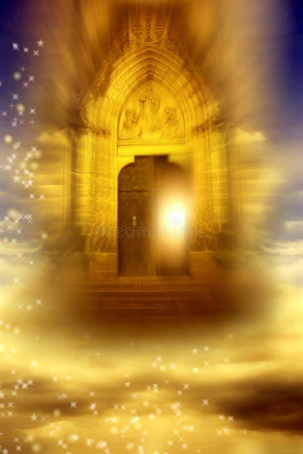 Porta Mystical fotos de stock