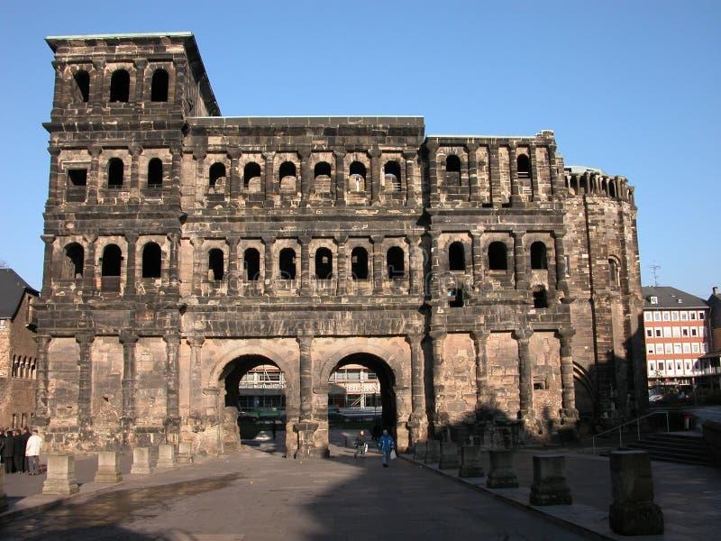 The Porta Nigra royalty free stock photo
