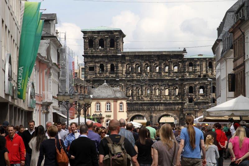 Porta Nigra in Trier stock image