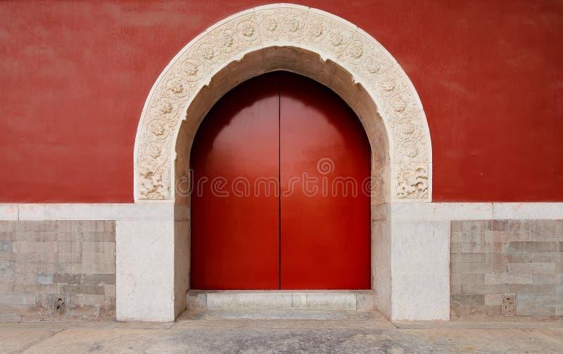 Porta real do templo fotos de stock royalty free