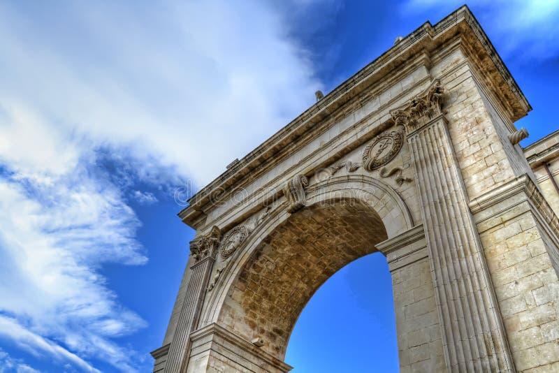 Porta Reale, Noto fotografia stock libera da diritti