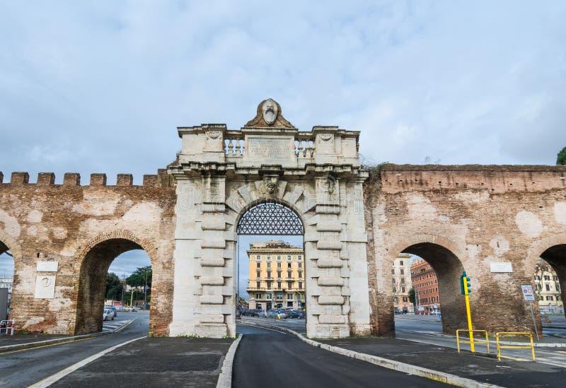 Porta San Giovanni, Rome Italy royalty free stock photos