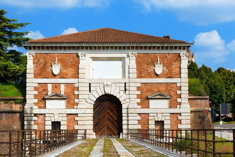Porta San Zeno - Verona Italy imagem de stock royalty free