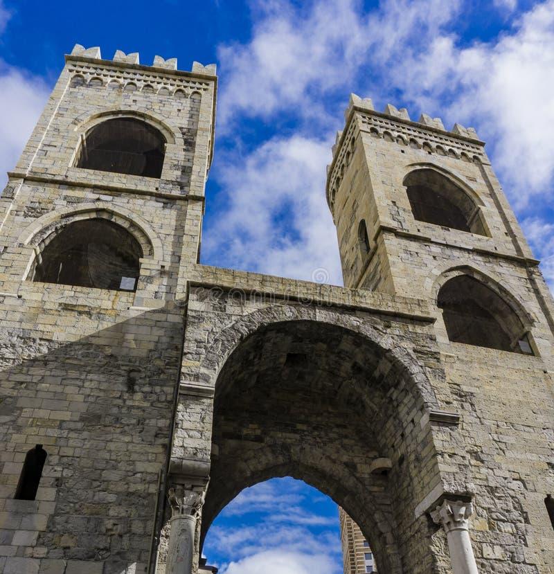 Porta Soprana στη Γένοβα στοκ εικόνες με δικαίωμα ελεύθερης χρήσης