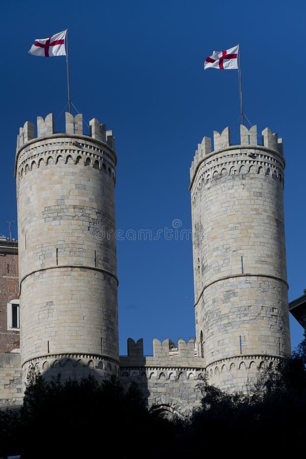 Porta Soprana στη Γένοβα στοκ εικόνα