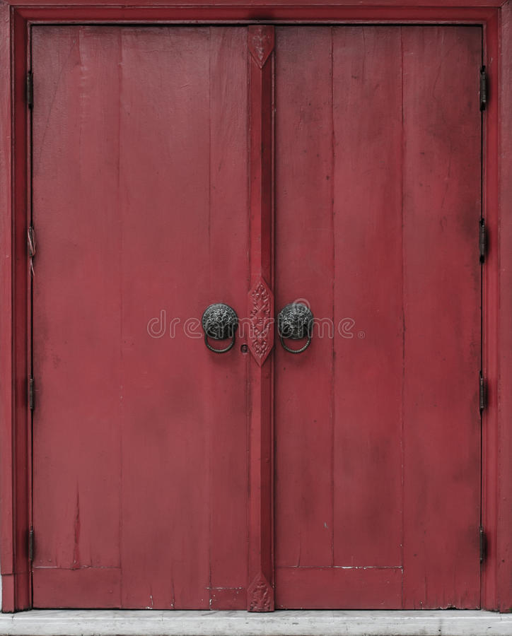 Porta tailandesa do estilo foto de stock royalty free