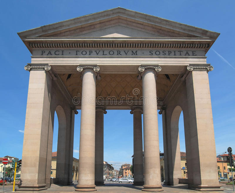 Porta Ticinese, Milaan stock foto's