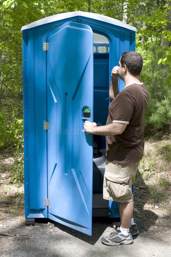 porta toalety zdjęcia stock