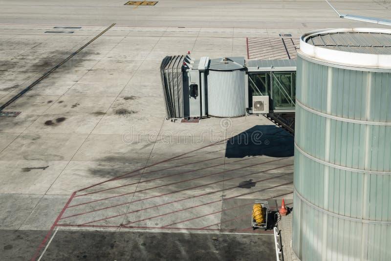 Porta vazia do aeroporto fotos de stock