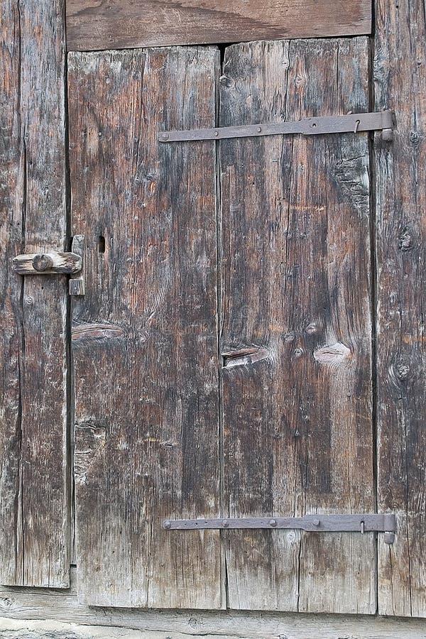 Porta Velha Foto de Stock