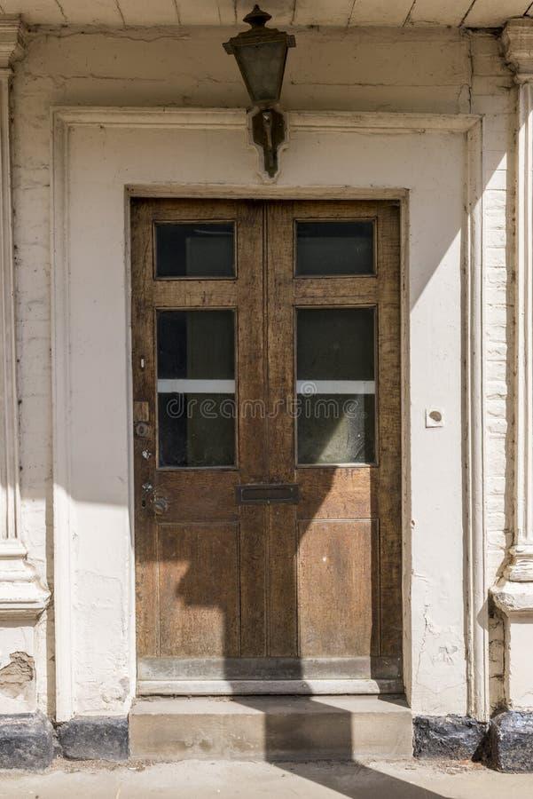 Porta velha em Durham - Reino Unido fotos de stock royalty free