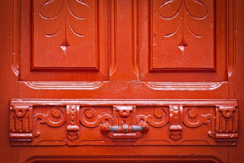 Download Porta Vermelha Do Vintage Com Pintura Lascada, Fundo Foto de Stock - Imagem de conceito, grunge: 29828182
