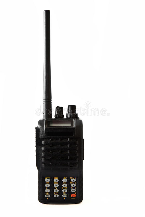 Download Portabil transceiver stock photo. Image of operator, communicate - 24860754