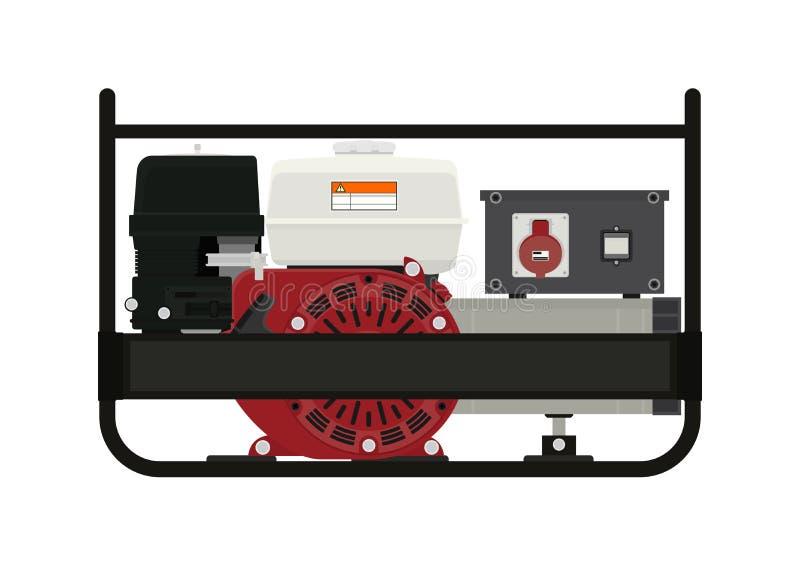 portable électrique de générateur illustration stock