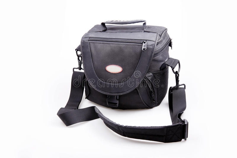 Download Portable camera bag stock image. Image of lens, black - 10559701