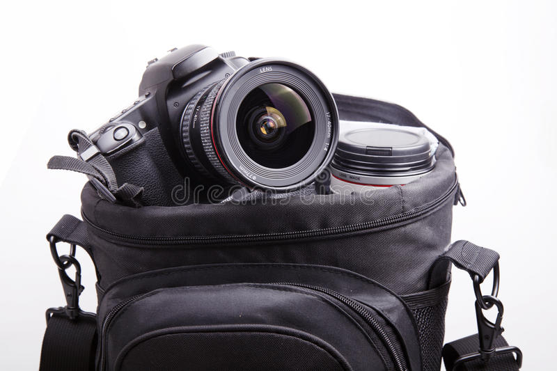 Download Portable camera bag stock image. Image of clever, container - 10560587