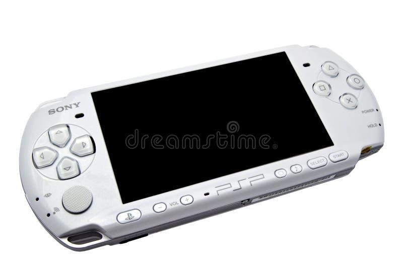Portable de Sony Playstation (PSP) photo libre de droits
