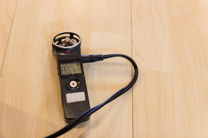 Portable Digital voice Recorder royalty free stock images