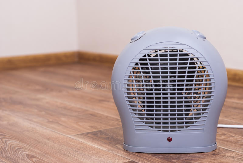 Portable electric heater royalty free stock photo