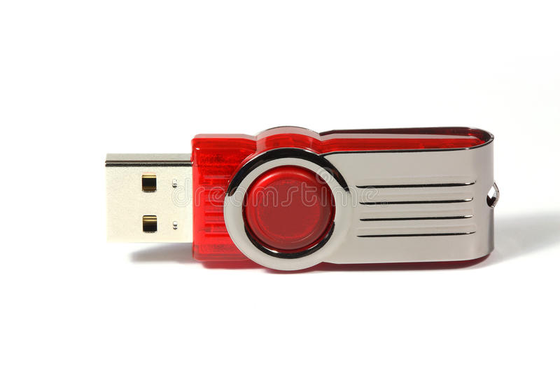 Portable flash drive memory
