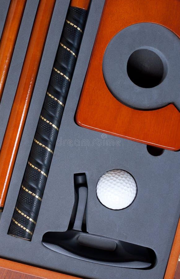 Portable Golf Set Royalty Free Stock Photo